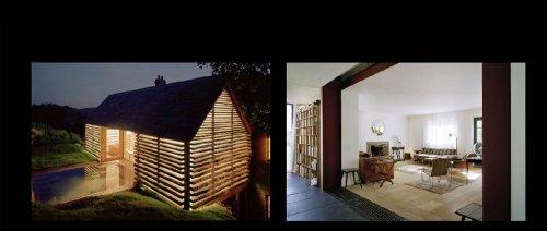 Architettura vetro e legno per un ex caseificio for Architettura blog