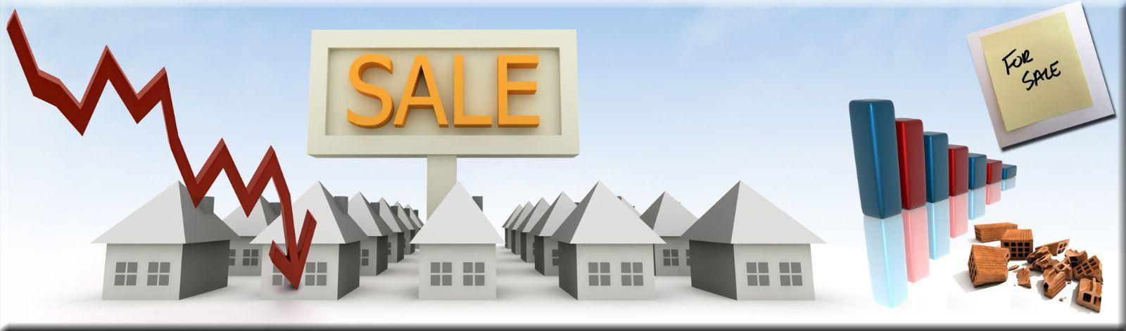 Crisi nel settore immobiliare