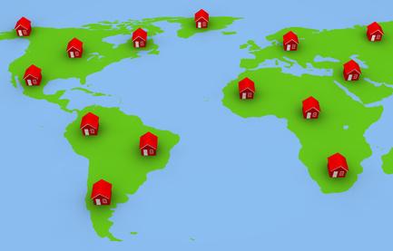 Gli italiani sognano casa all'estero